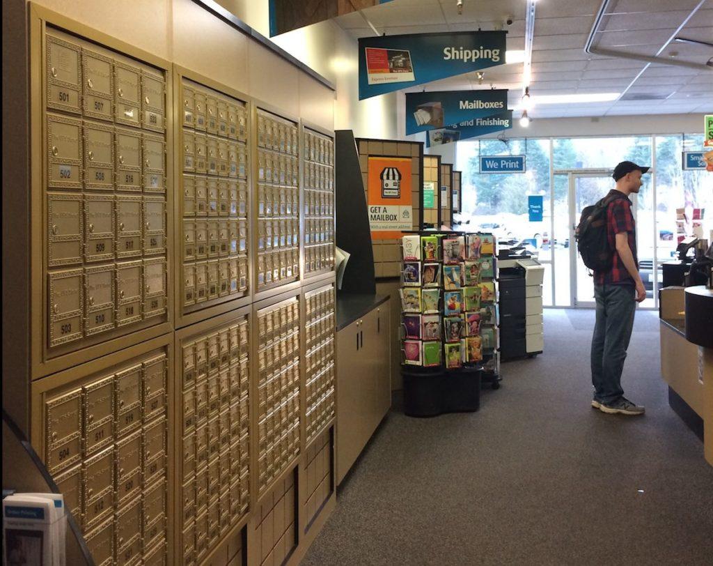 UPS Mailbox Store