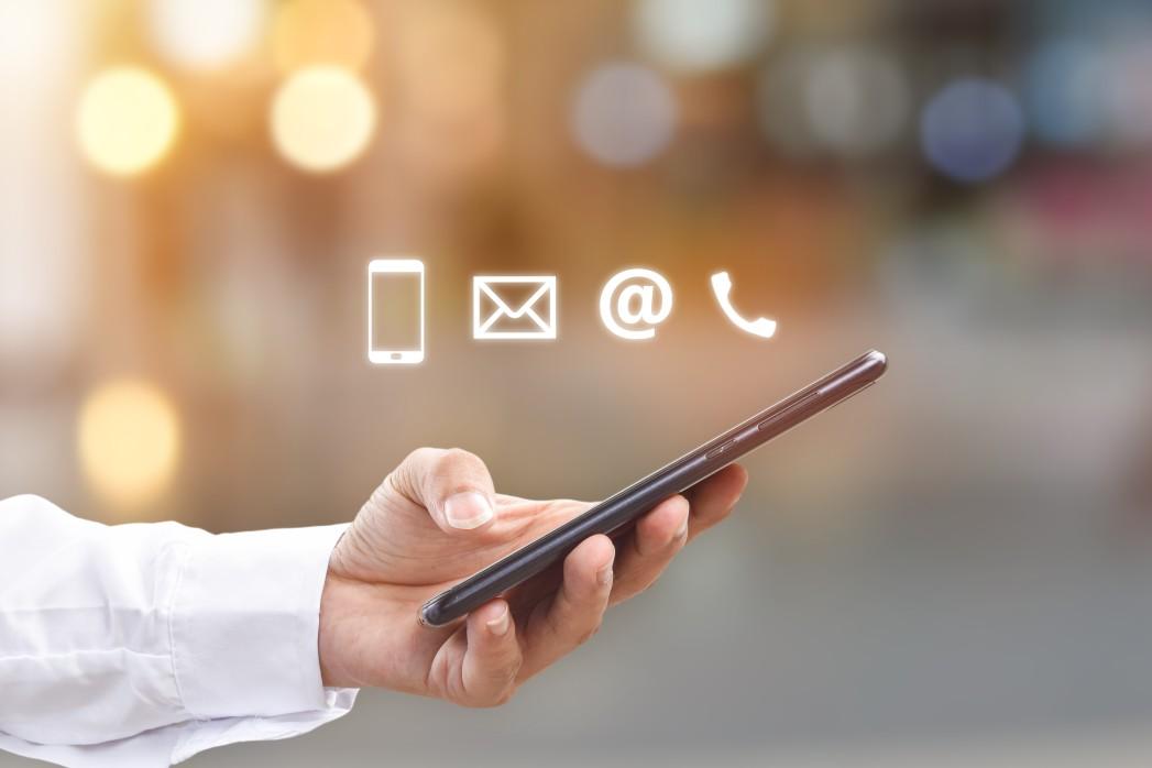 virtual business address on phone