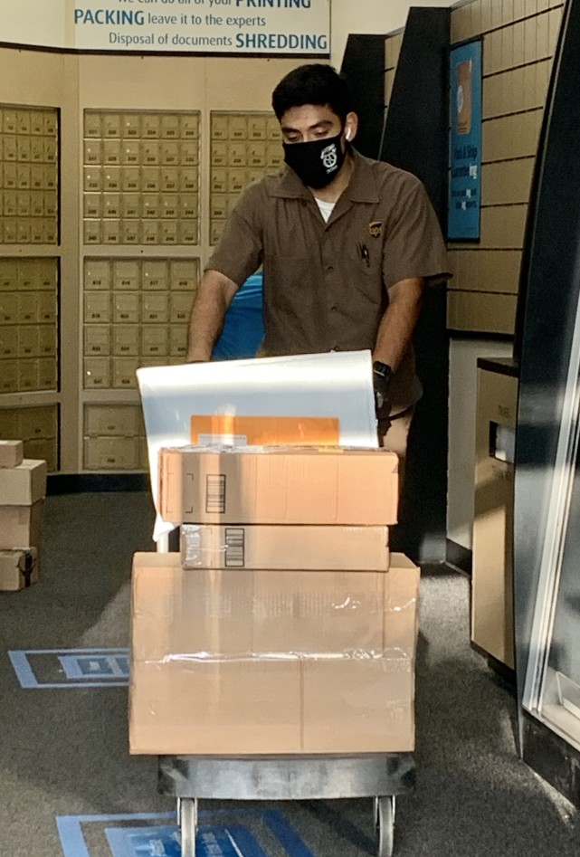moving packages to a ups mailbox