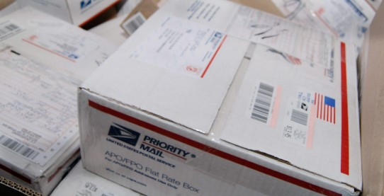 priority mail box
