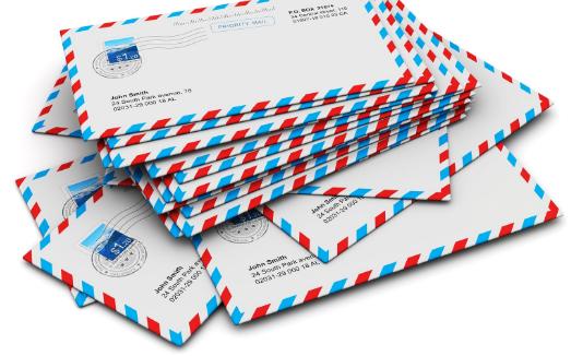 many envelopes