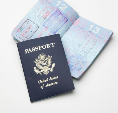 an open passport
