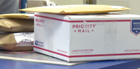 priority mail package