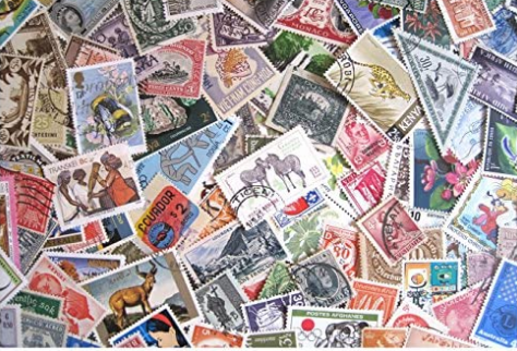 a pile of stamps