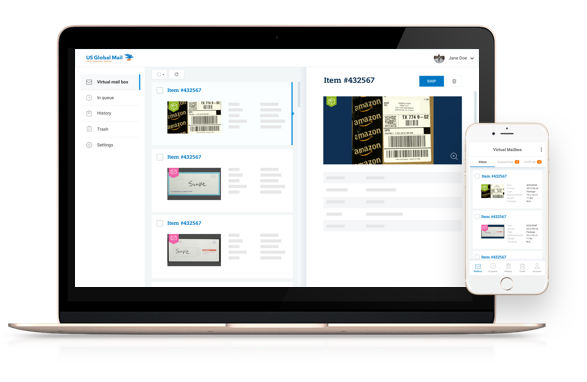 virtual mailbox on desktop