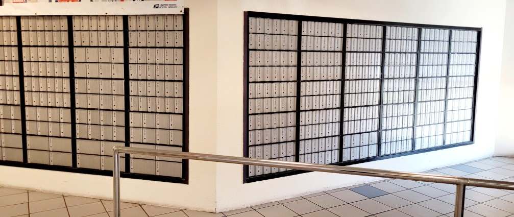 po boxes at the post office