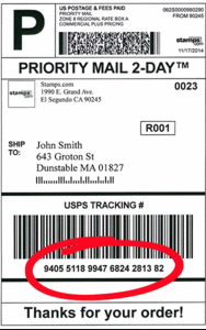 priority mail tracking