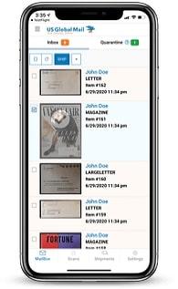 virtual mailbox on mobile
