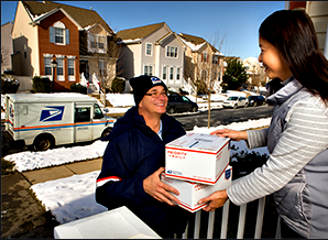 usps delivery of mail