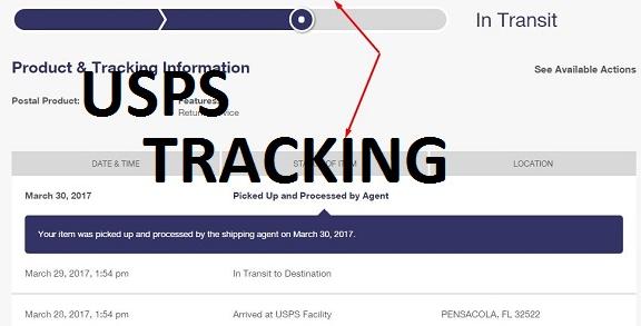 usps tracking dashboard