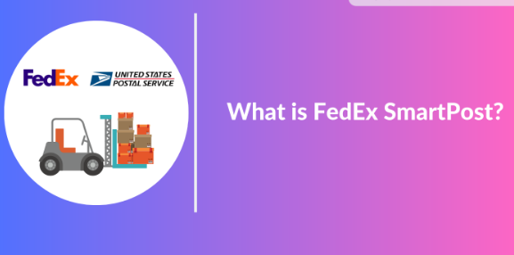 """banner that says """"what is fedex smartpost"""""""