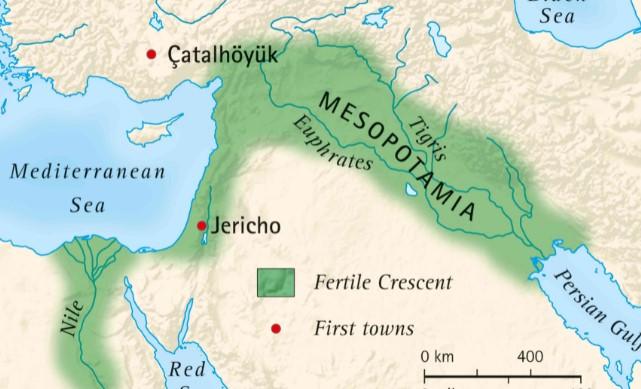 old city in mesopotamia