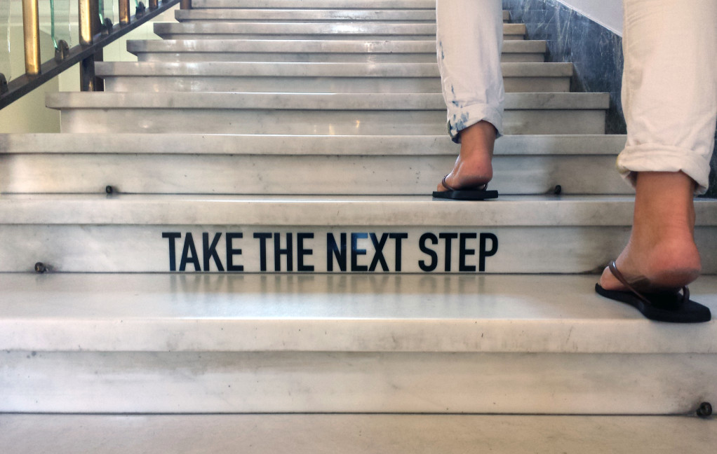 taking a next step