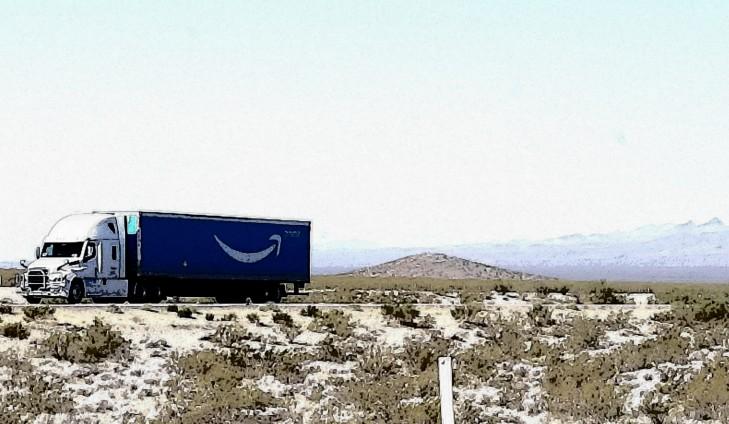 amazon truck driving