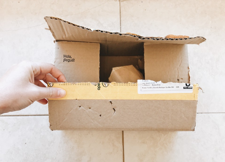 opened usps package