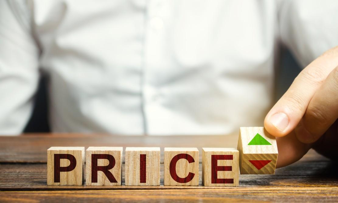block that says price
