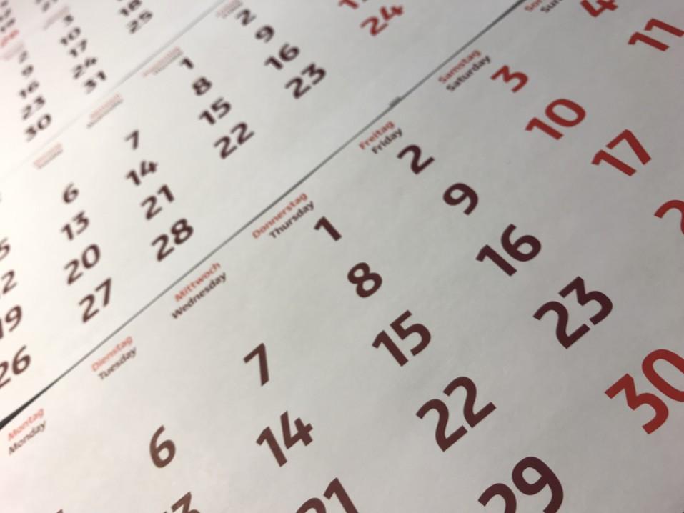 calendar for usps schedule a pickup